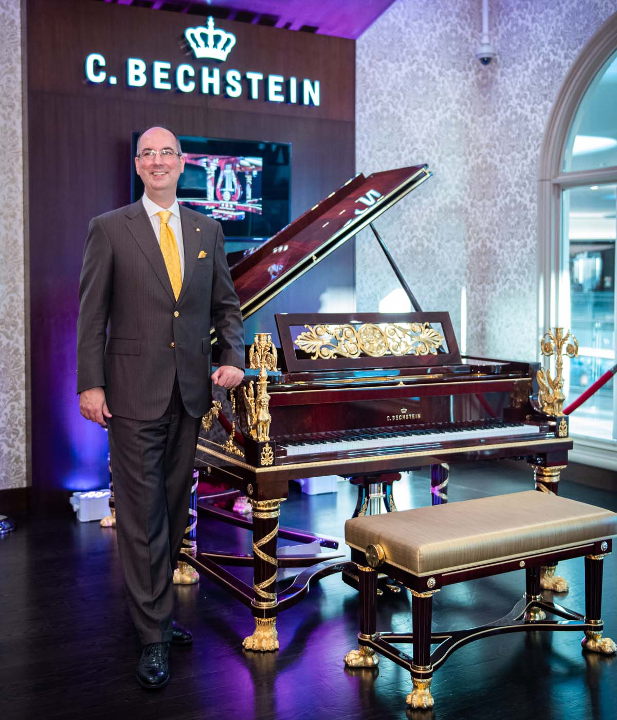 C Bechstein Sphinx Grand Piano